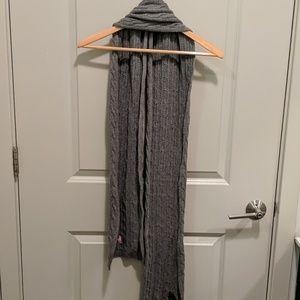 Ralph Lauren Grey Wool Scarf